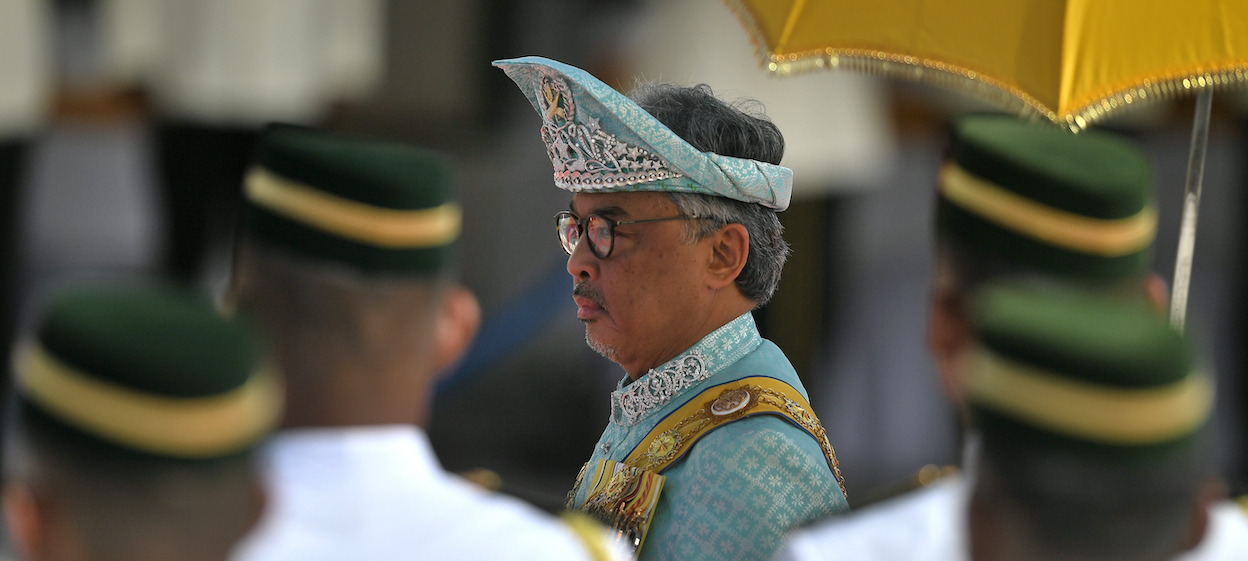 Malaysia's King Abdullah declared a nationwide state of emergency on 12 January 2021.