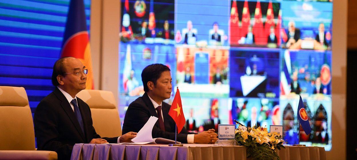 Vietnam's Prime Minister Nguyen Xuan Phuc