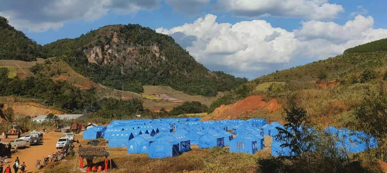 Temporary Shelters Erected in Wa Region to Facilitate Quarantine Measures