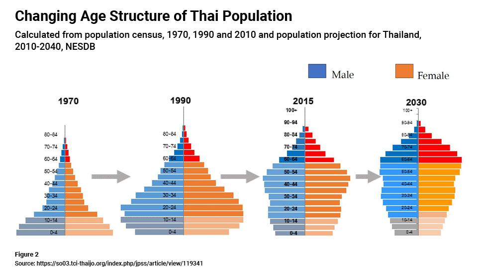 Thai population