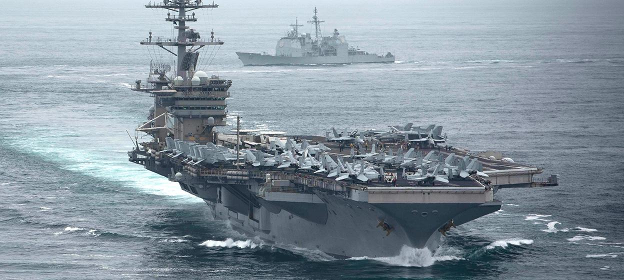 The USS Theodore Roosevelt