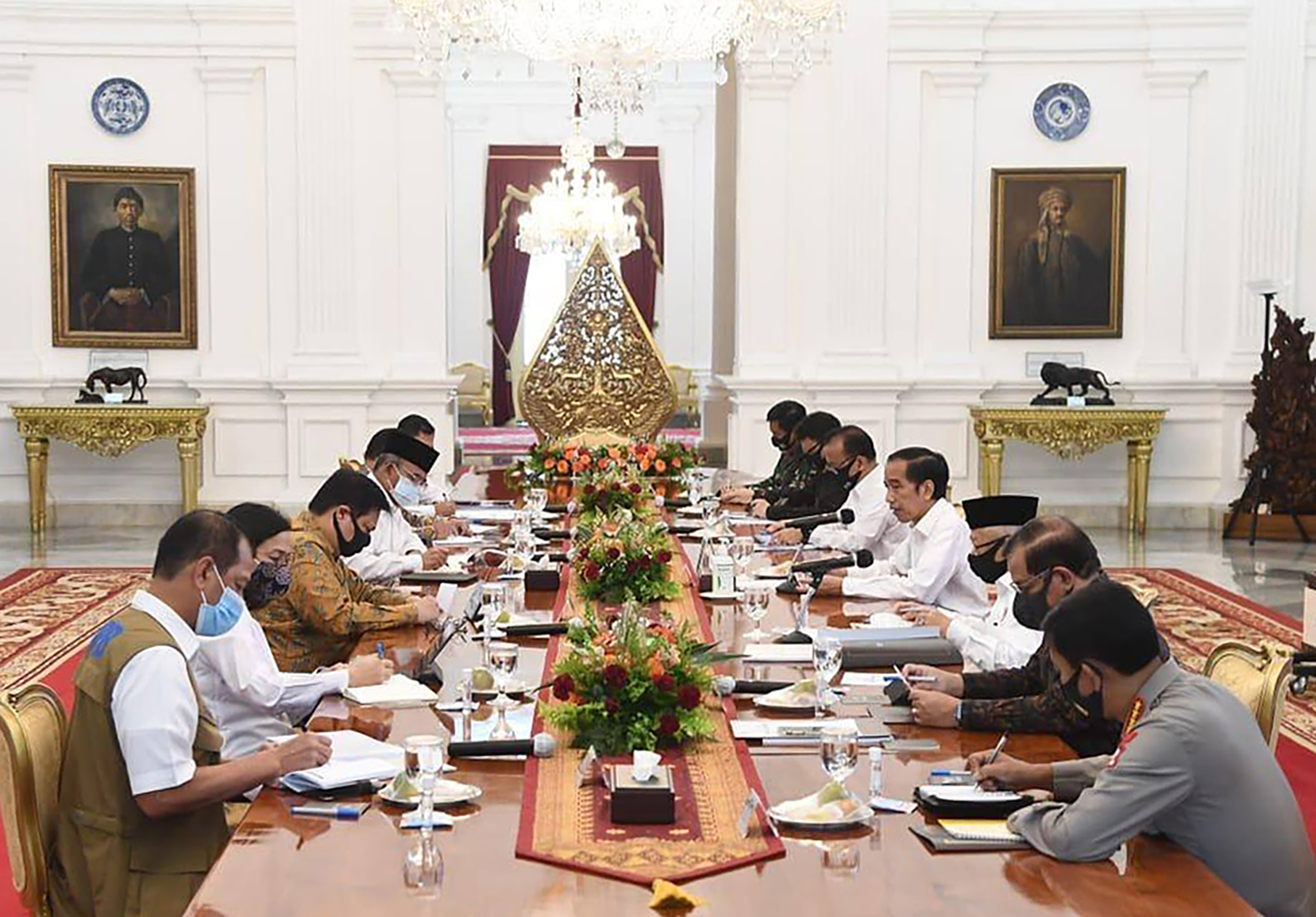 President Joko Widodo has unleashed his fury at his ministers for their mishandling of the Covid-19 pandemic.