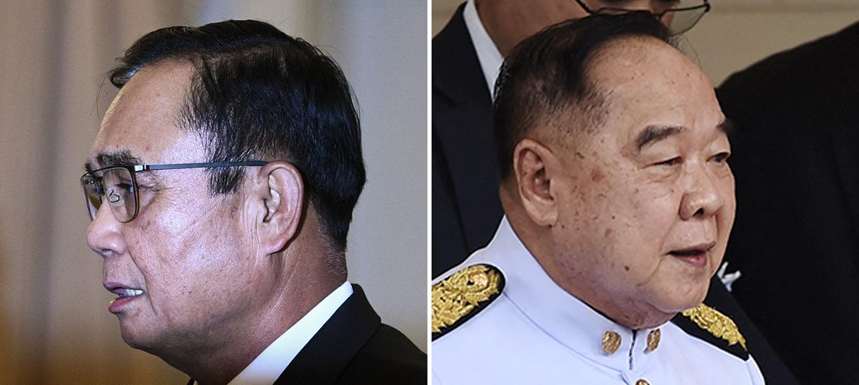 General Prawit and Prime Minister Prayut