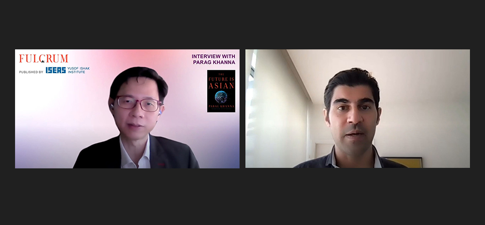 Mr Parag Khanna and Dr William Choong