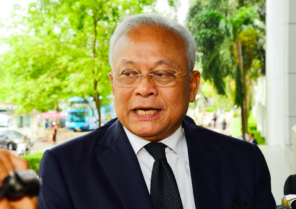 Suthep Thaugsuban, who mobilised protests against the Yingluck administration in 2013-14, was sentenced to 5 years in jail for breaking numerous laws on 24 February. (Photo: Suthep Thaugsuban Facebook)